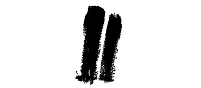 Twofold Logo - Black on White