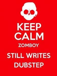 keep calm zomboy