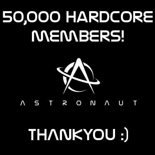 astronaut thank you