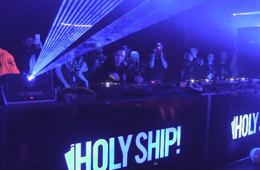 skrillex holy ship