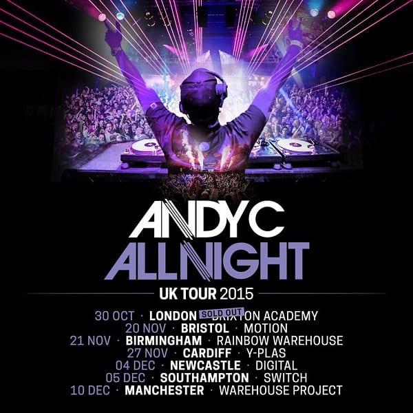 andy c tour